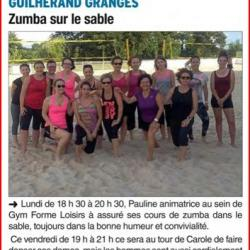 Article zumba du 15 juin